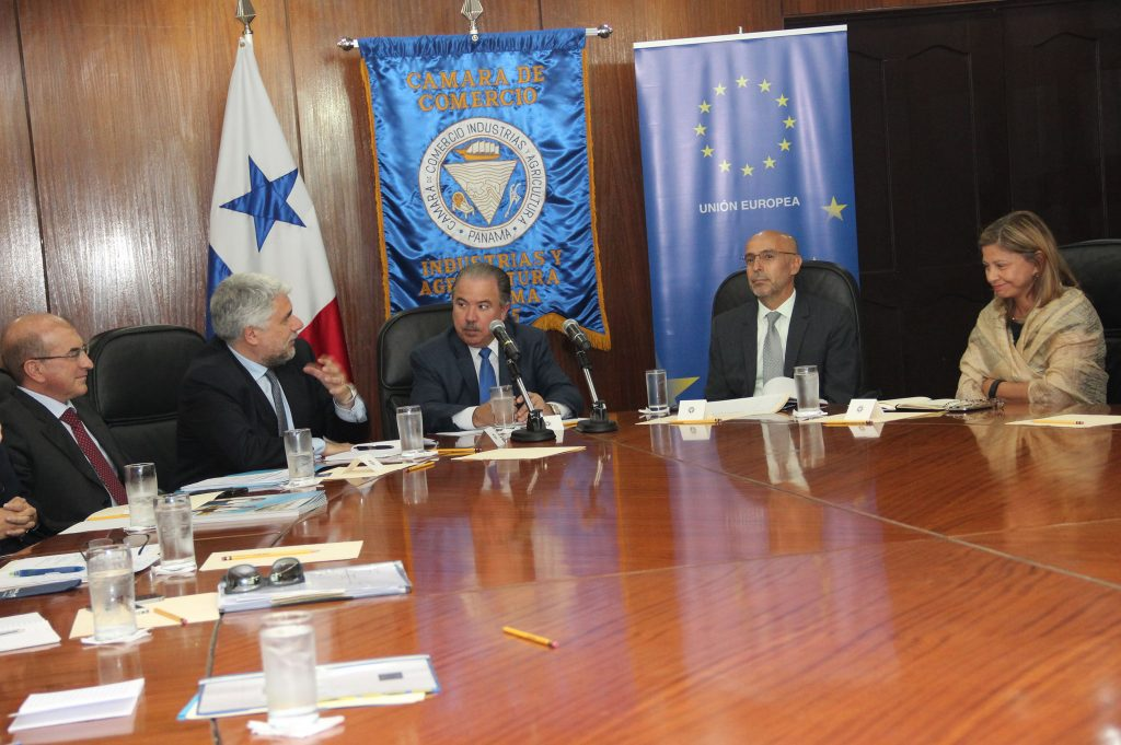 Meeting with the European Union Delegation