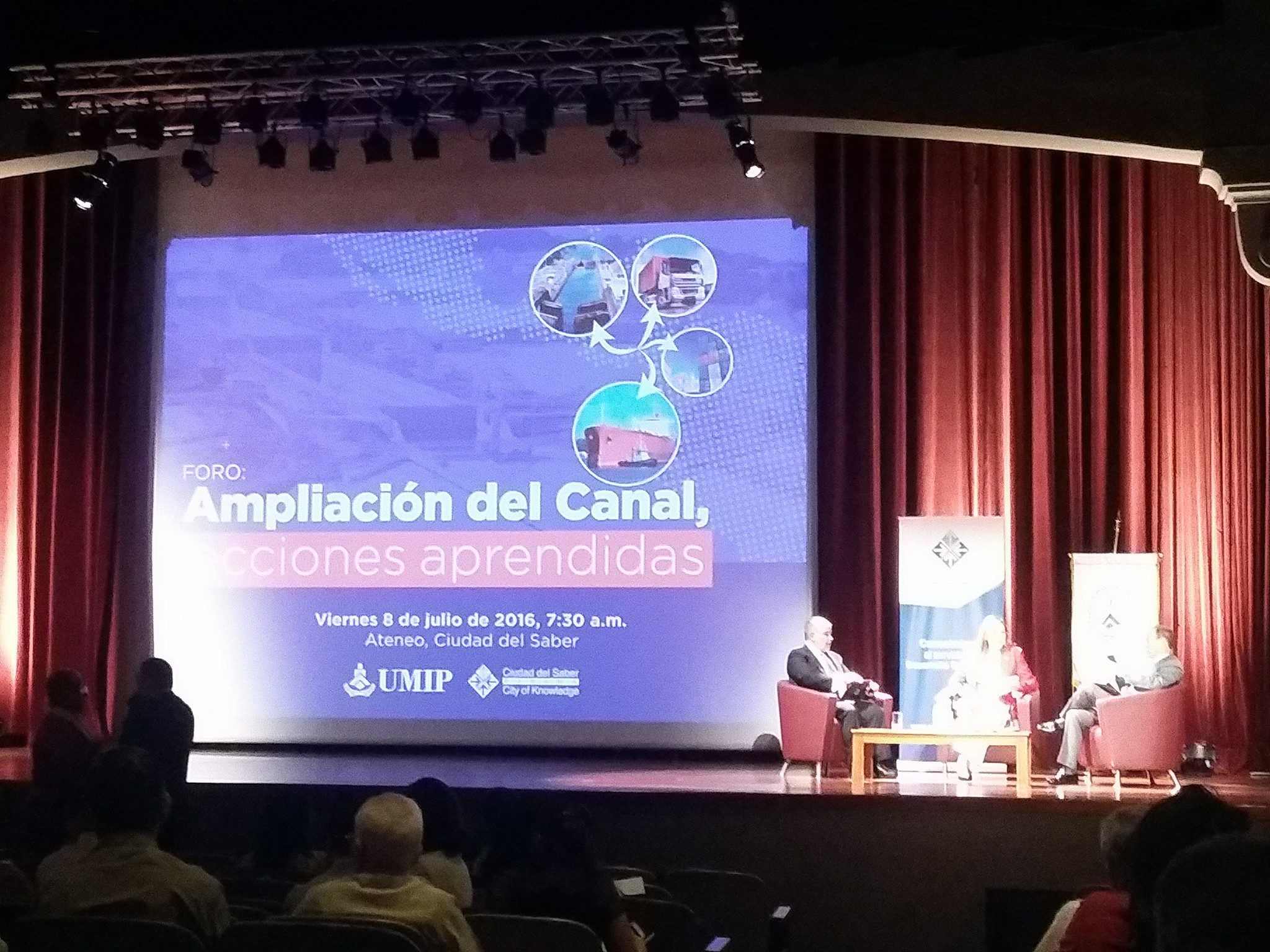 BritCham at Panama Canal Expansion Forum