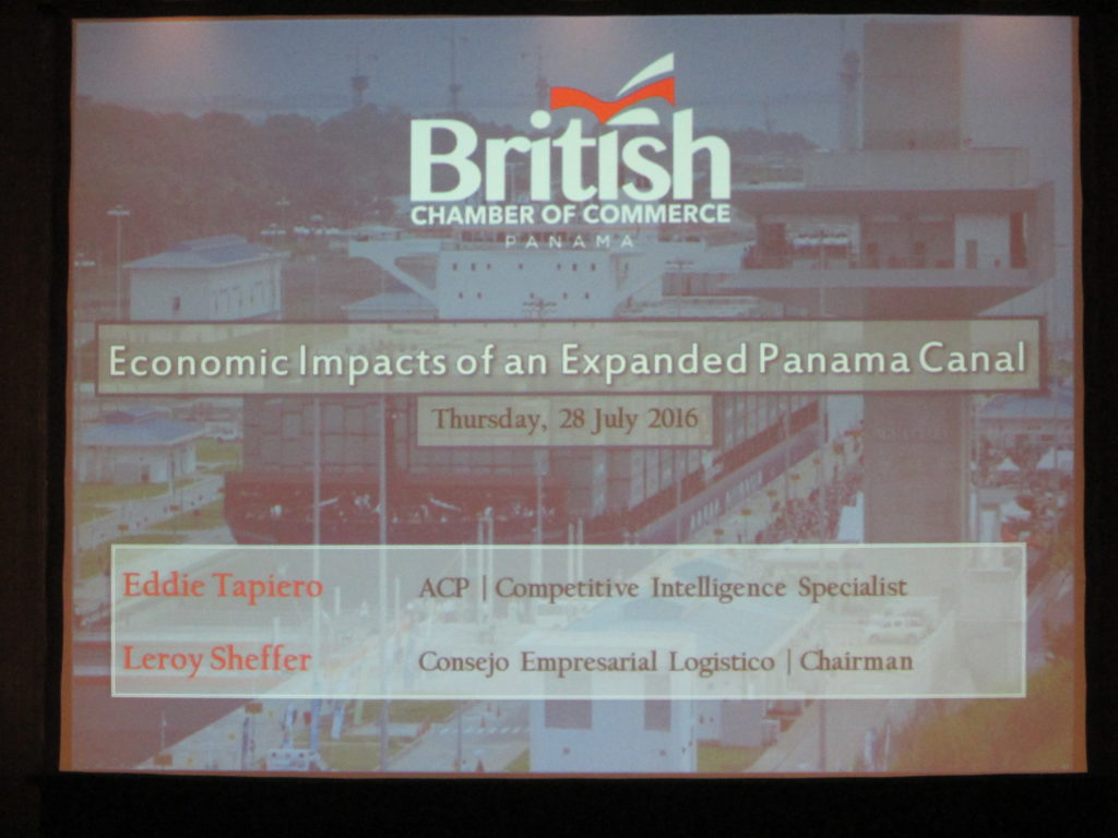 July Lunch: Economic Impacts of an Expanded Panama Canal