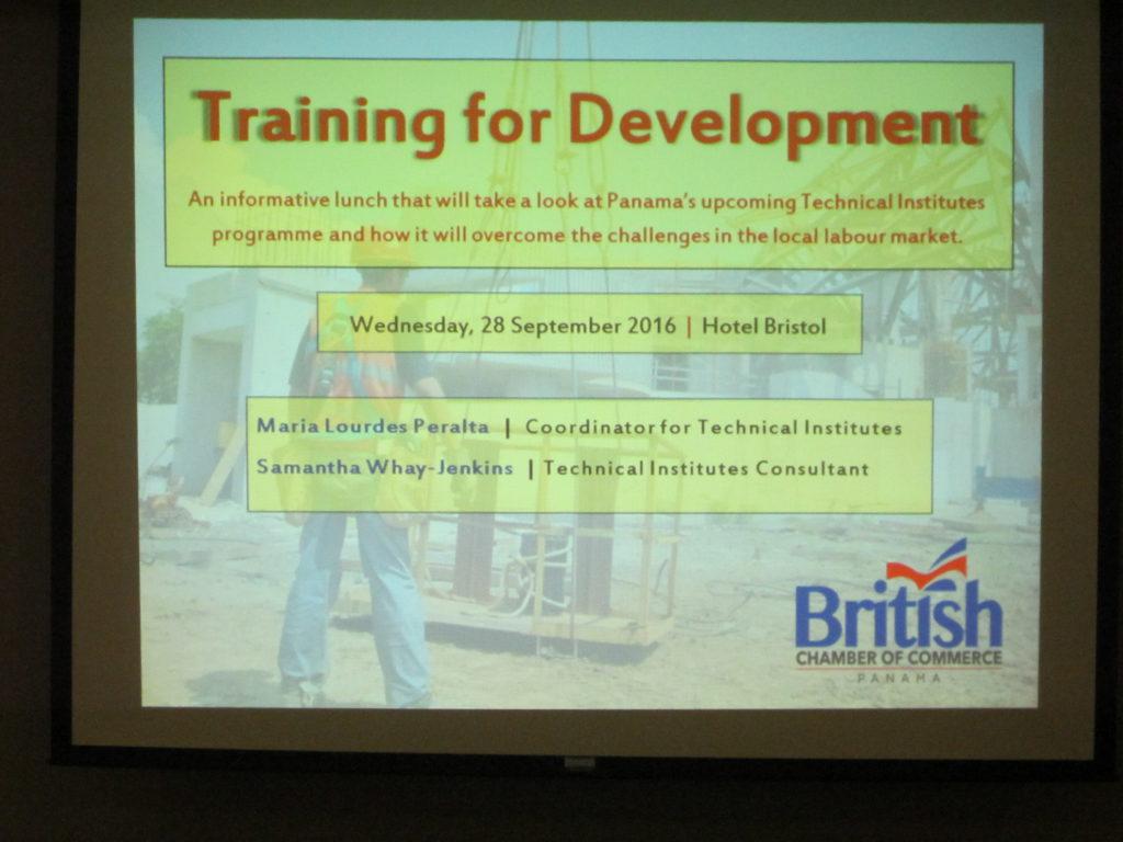 September Lunch: Training for Development