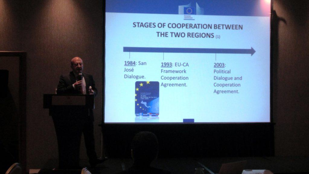October Lunch: EU-CA Association Agreement